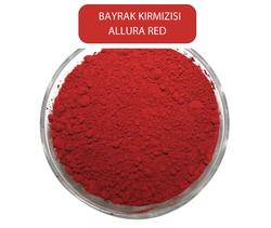 KRK - Allura RedBBayrak Kırmızısı Toz Gıda Boyası ( E129) 1Kg