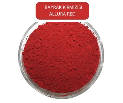 Allura RedBBayrak Kırmızısı Toz Gıda Boyası ( E129) 1Kg