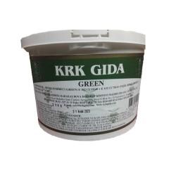 KRK - Dark Green Gıda Renklendiricisi (Yeşil) E 133+ E 133 -1Kg