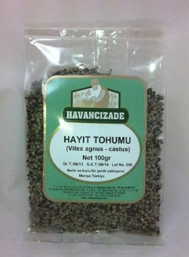 Hayıt tohumu (Vitex agnus - castus)- 100 gr