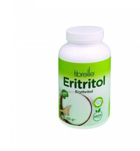 Fibrelle Eritritol ( Erythritol ) 400 g ( Şişe )