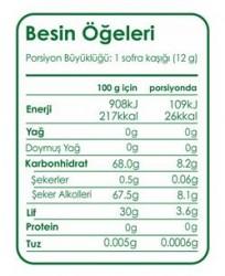 Fibrelle Stevialı 2,5kg Prebiyotik Lifli Tatlandırıcı - Thumbnail