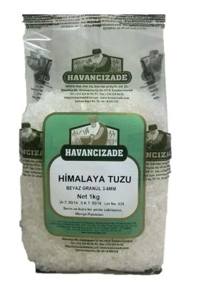 Himalaya Tuzu Beyaz Granül 3-7mm