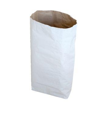 YERLİ - Kraft Torba Beyaz Baskısız 40*55 cm+12cm