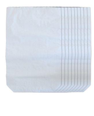 YERLİ - Kraft Torba Beyaz Baskısız 40*55 cm+12cm (1)