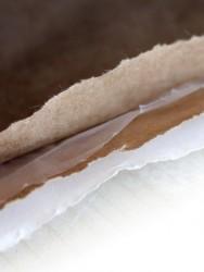 Kraft Torba Beyaz Baskısız 50*75 cm+14cm - Thumbnail