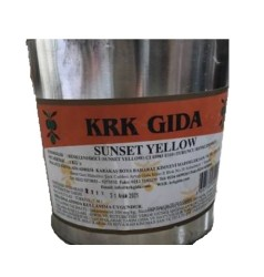 KRK - Sunset Yellow Gıda Renklendiricisi (Turuncu) -1Kg
